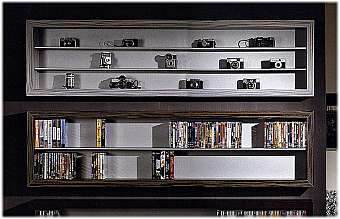 Полка VISMARA CD-DVD Rack Soft rock 150 - horizontal